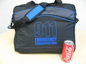 Laptop Bag Briefcase 911 Communications
