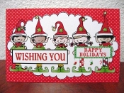 Wishing You Happy Holidays Greeting Card