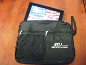 Black Personal Bag With 911 Lifeline Imprint