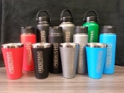 Hydro Flask Insulated Coffee, Tea and Water Bottle ETCHED- 20 oz