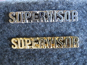 Open Supervisor Uniform Pin