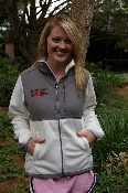 GIN Embroidered Ladies Fleece Jacket