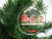 9-1-1 Logo Ornament