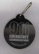 Zipper Pull 911 Emergency Communications