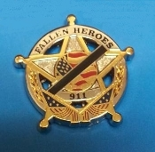 Fallen Heroes 5 point Star Pin