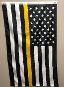 Usa-thin-gold-line flag