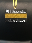 911 THE CALM IN THE CHAOS MINI PLAQUE