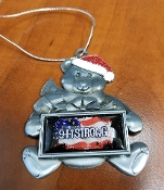 911 STRONG CHRISTMAS BEAR ORNAMENT