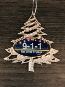 Die Cast Voice Of Hope Christmas Tree Ornament
