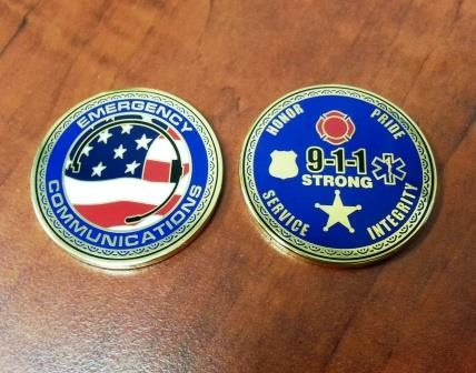 Challenge Coin emergency communications